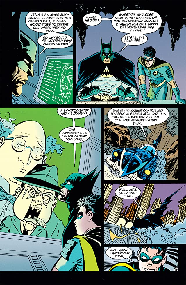 click for super-sized previews of Batman: Shadow of the Bat #32