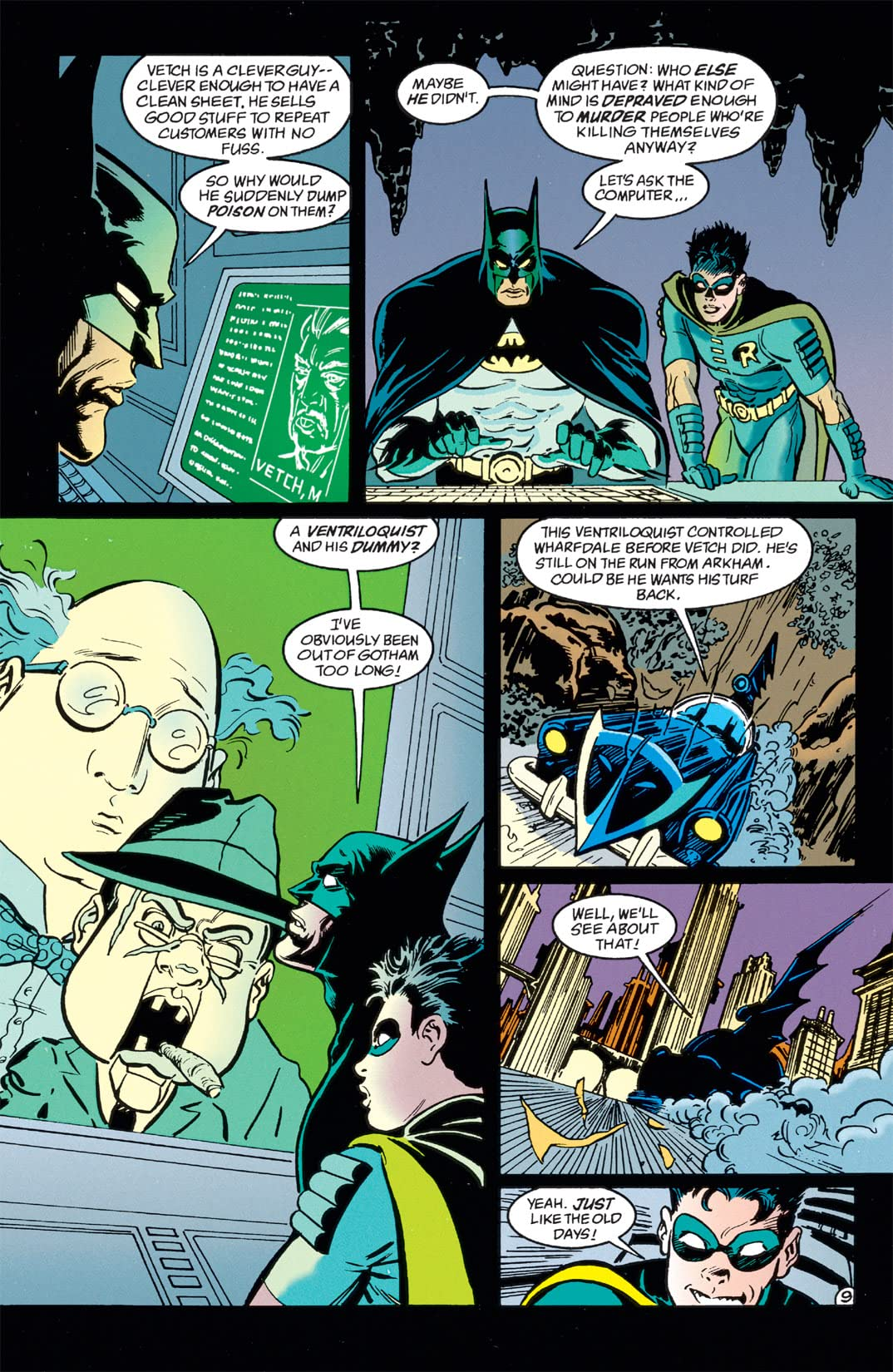 Batman: Shadow of the Bat #32