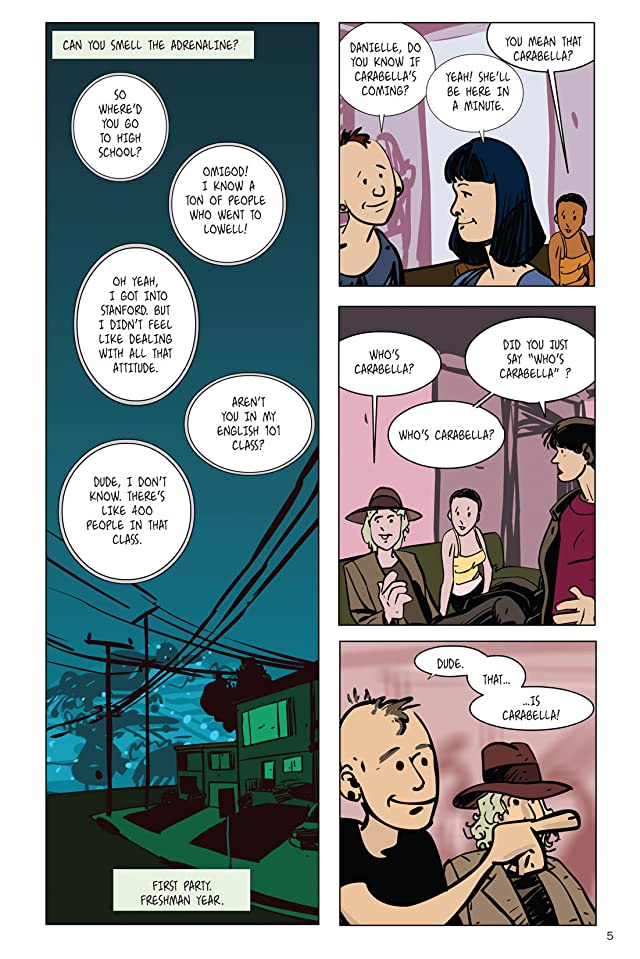 click for super-sized previews of Networked: Carabella On the Run: Preview