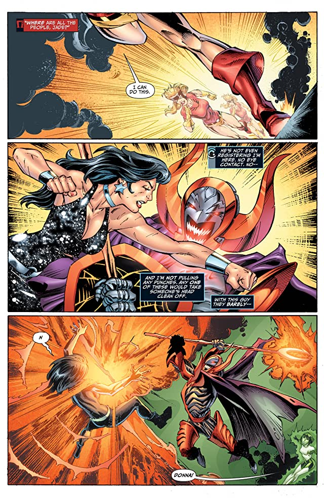 click for super-sized previews of Justice League of America (2006-2011) #52
