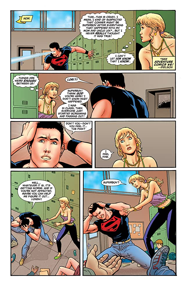 click for super-sized previews of Superboy (2010-2011) #3