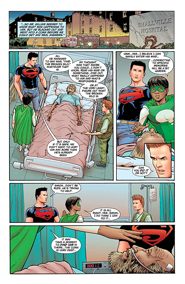 click for super-sized previews of Superboy (2010-2011) #4