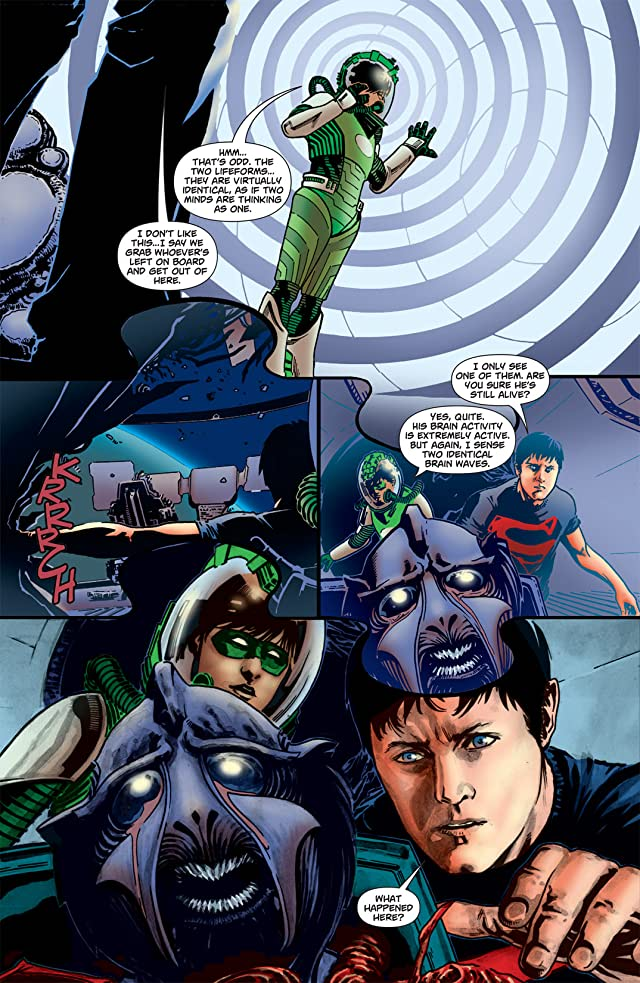 click for super-sized previews of Superboy (2010-2011) #7
