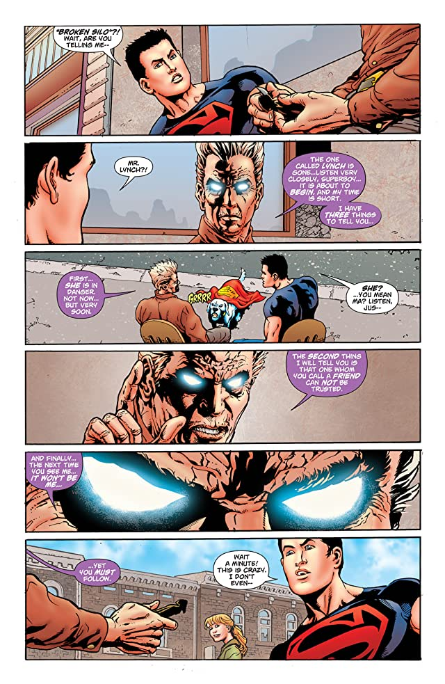 click for super-sized previews of Superboy (2010-2011) #8