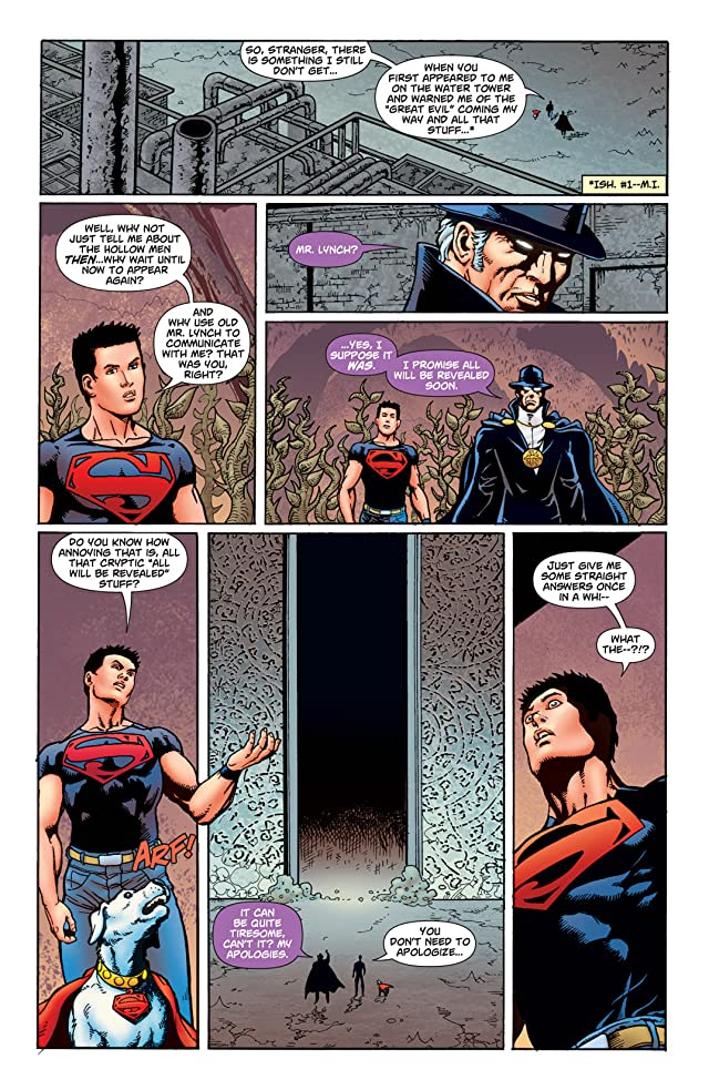 click for super-sized previews of Superboy (2010-2011) #9