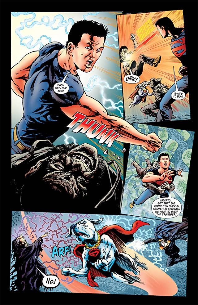 click for super-sized previews of Superboy (2010-2011) #11