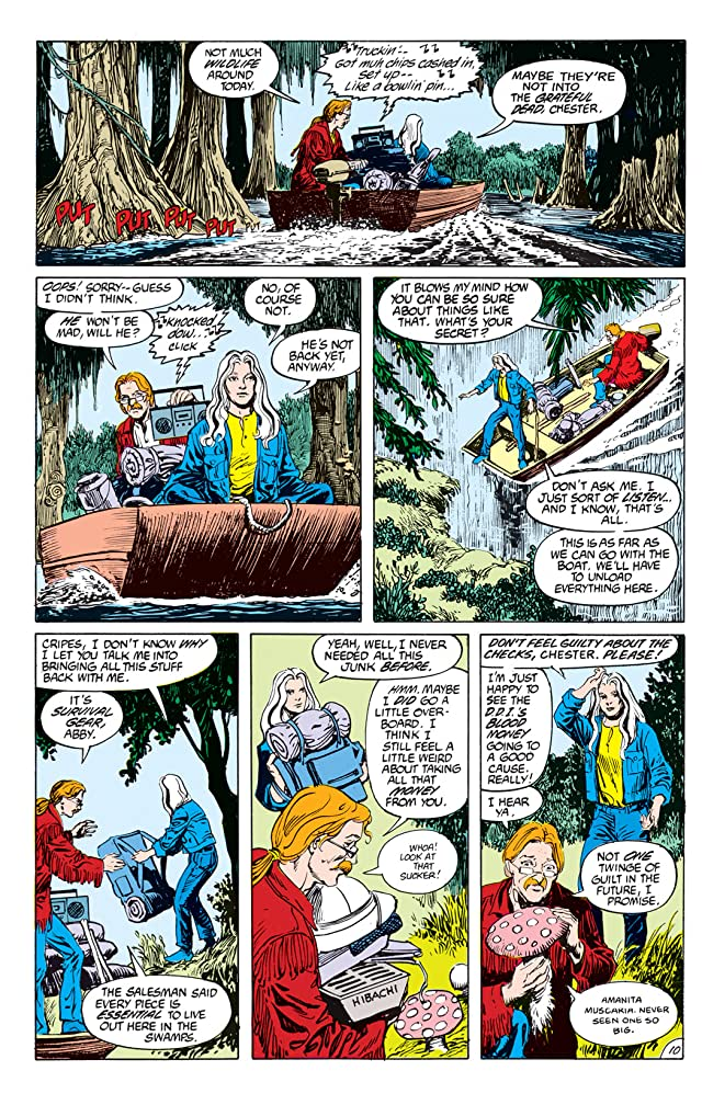 click for super-sized previews of Swamp Thing (1982-1996) #69