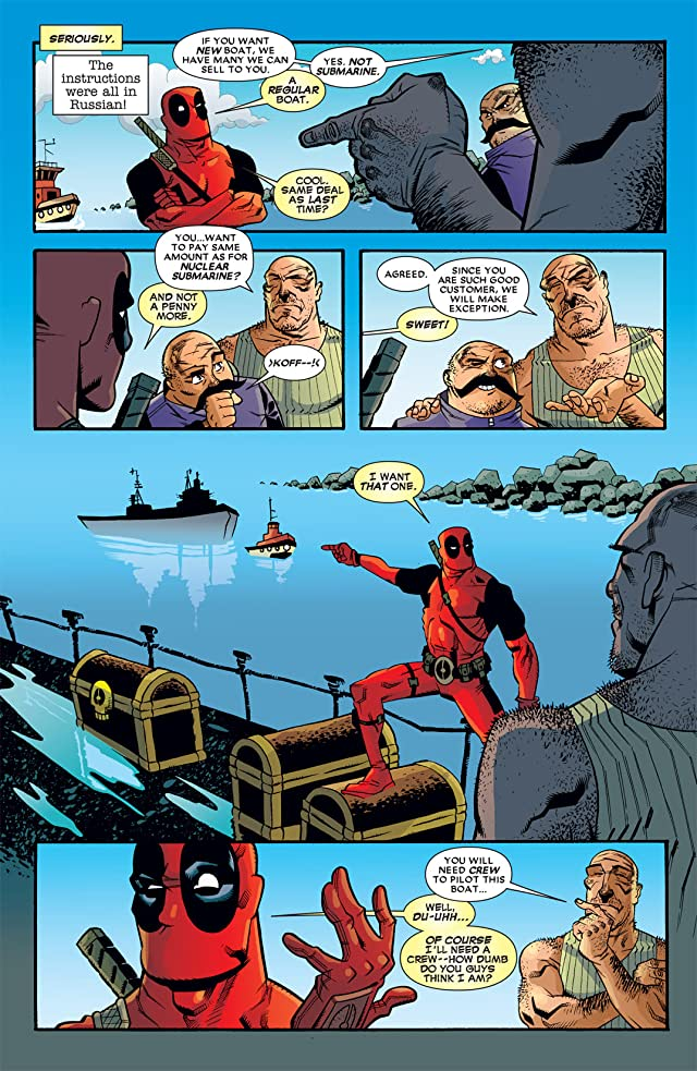 click for super-sized previews of Deadpool (2008-2012) #13