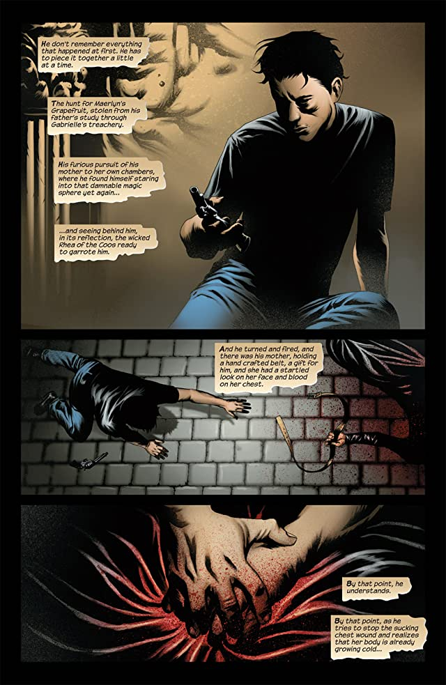 click for super-sized previews of Dark Tower: The Fall of Gilead #1 (of 6)