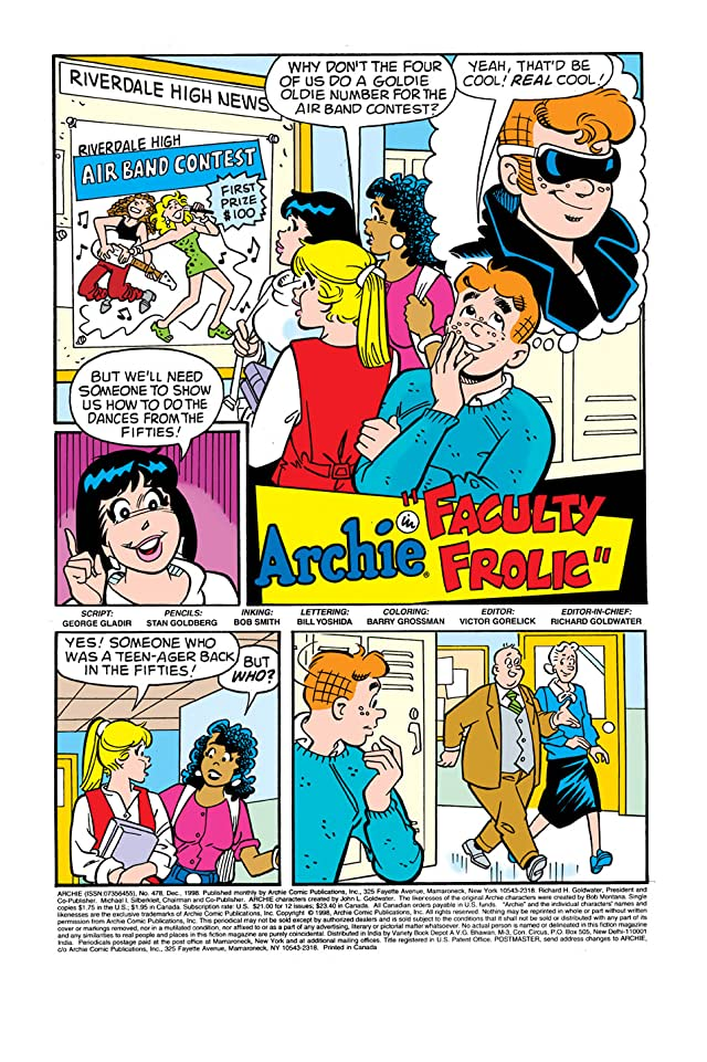 click for super-sized previews of Archie #478