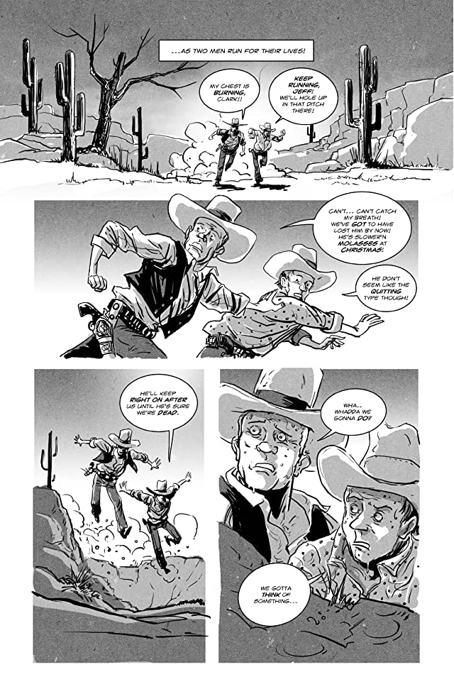click for super-sized previews of Zeke Deadwood: Zombie Lawman #2: With a Hammer In My Hand