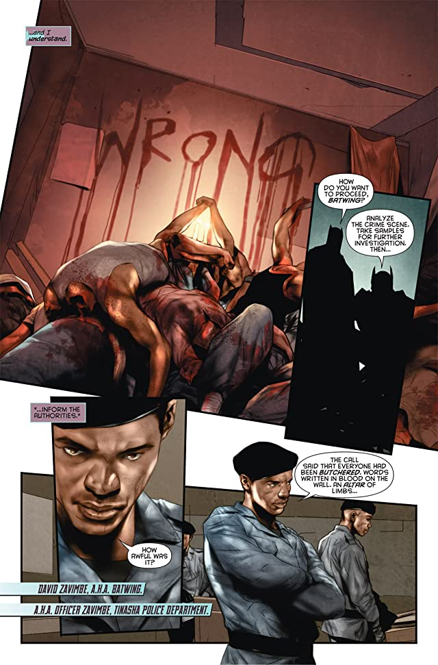 click for super-sized previews of Batwing (2011-2014) #1