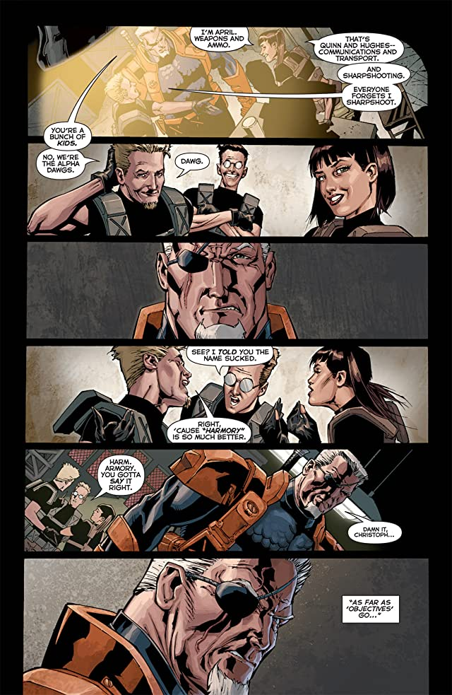 click for super-sized previews of Deathstroke (2011-2013) #1