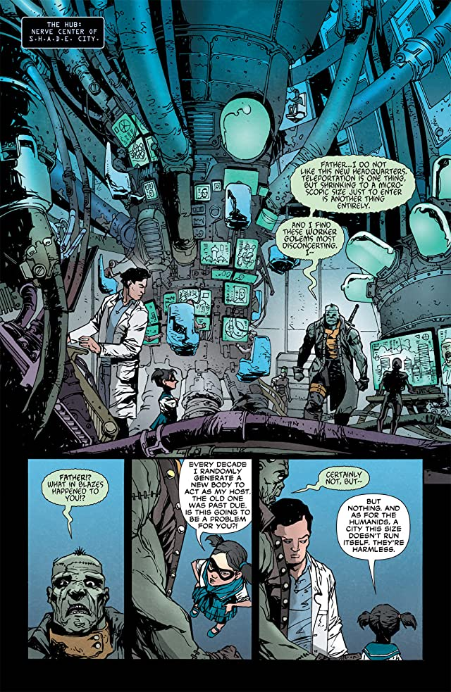 click for super-sized previews of Frankenstein, Agent of SHADE (2011-2013) #1