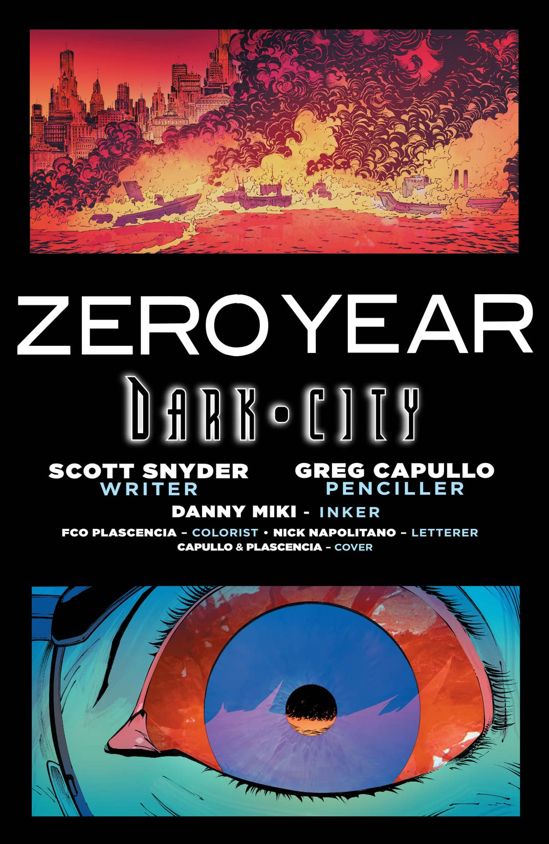 Batman (2011-2016) Vol. 5: Zero Year – Dark City