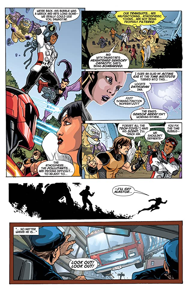 click for super-sized previews of Legion Lost (2011-2013) #1