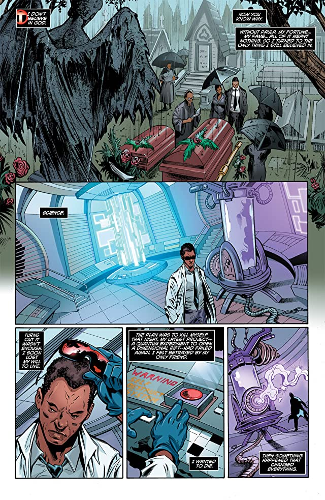 click for super-sized previews of Mister Terrific (2011-2012) #1