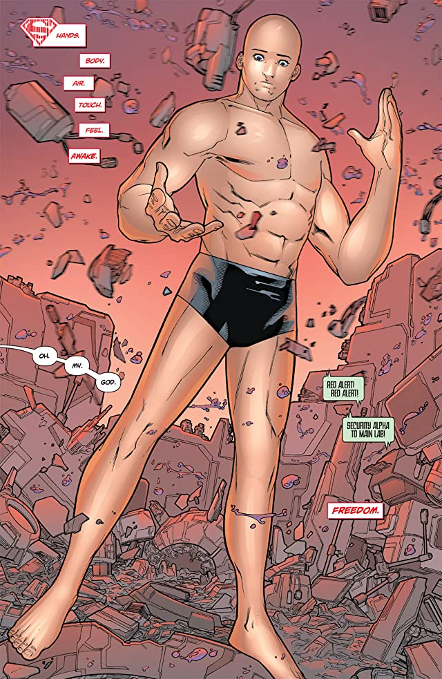 click for super-sized previews of Superboy (2011-2014) #1
