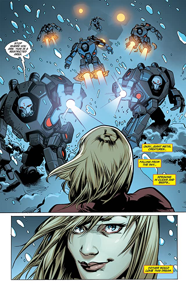 click for super-sized previews of Supergirl (2011-2015) #1