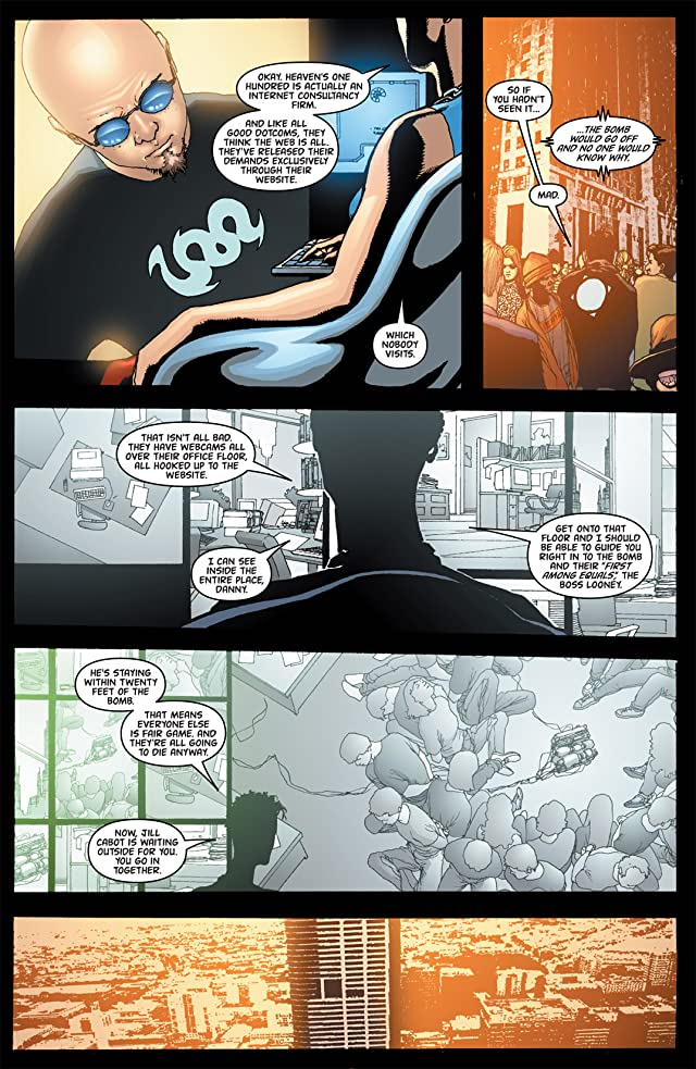 click for super-sized previews of Global Frequency #4