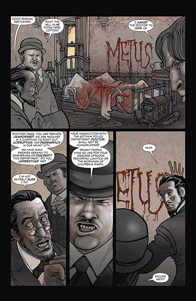 click for super-sized previews of All Star Western (2011-2014) #1