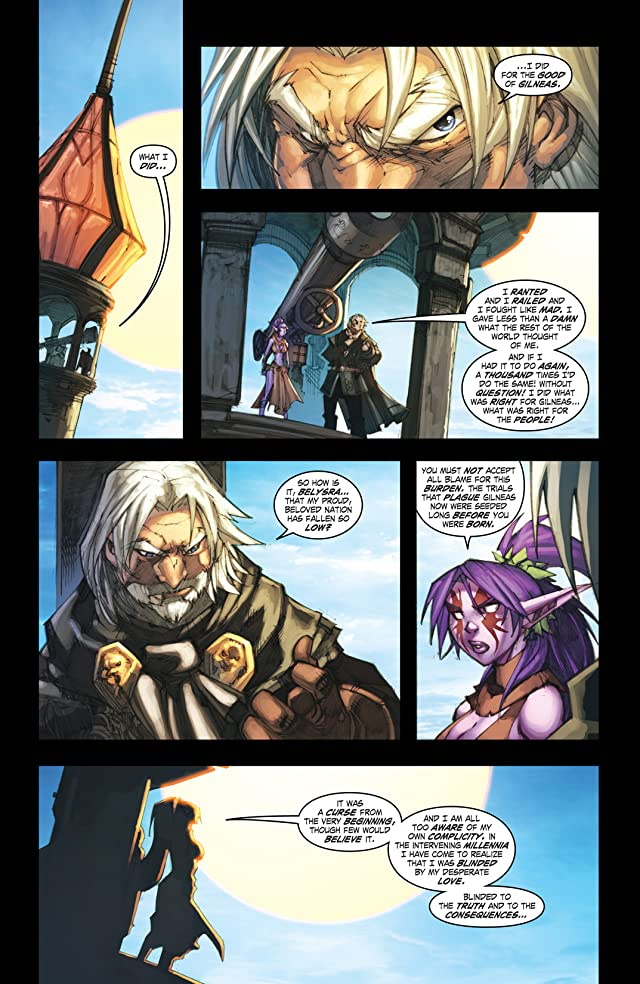 click for super-sized previews of World of Warcraft: Curse of the Worgen #2 (of 5)