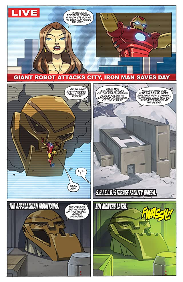 click for super-sized previews of Avengers: Earth's Mightiest Heroes (2010) #4