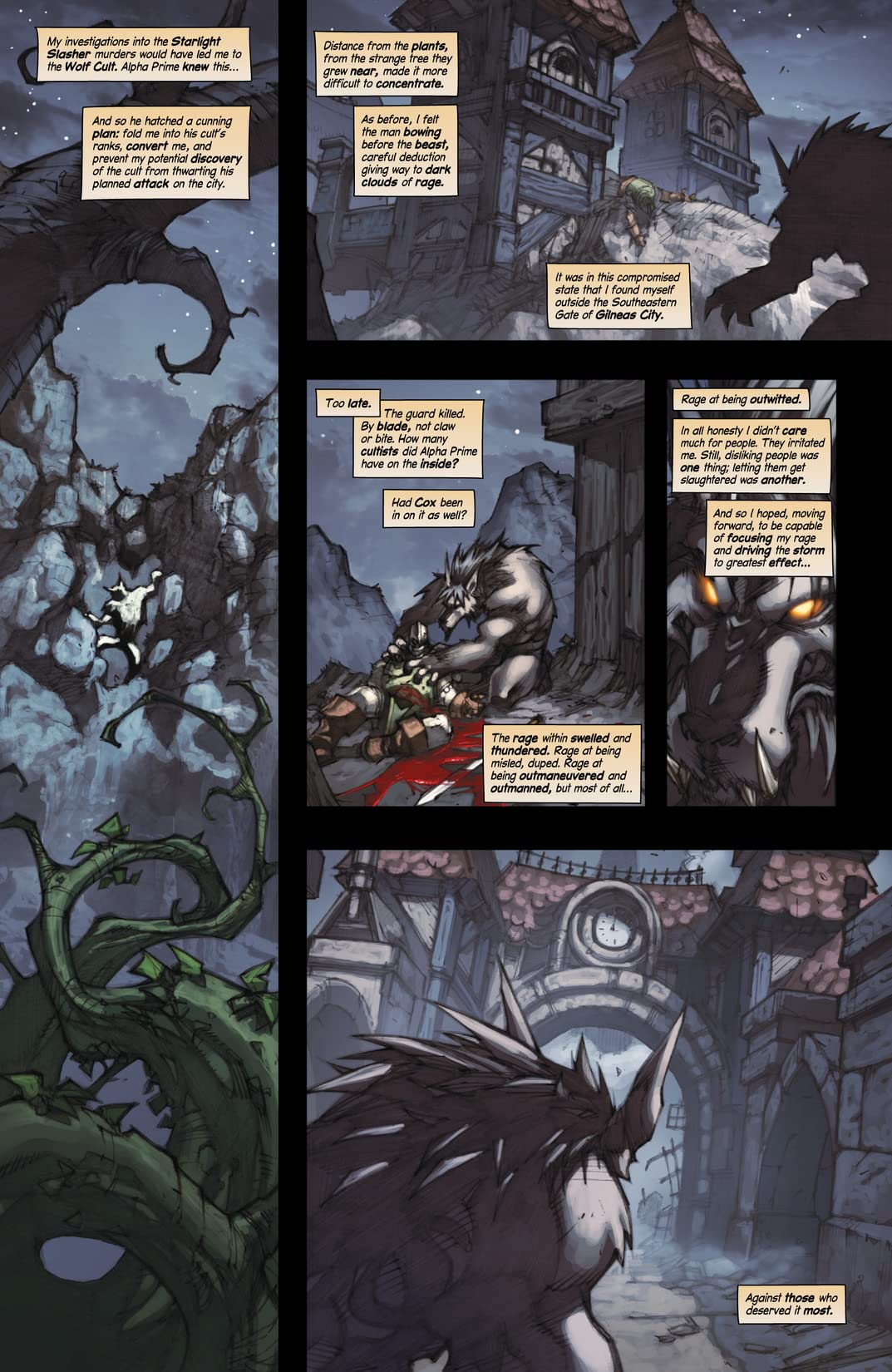 World of Warcraft: Curse of the Worgen #4 (of 5)