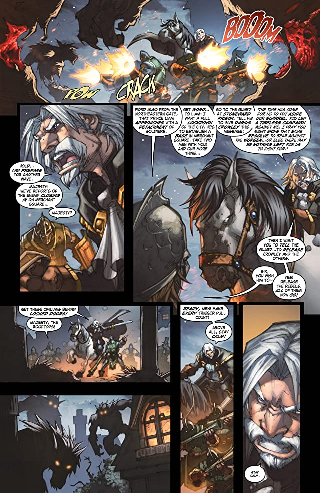 click for super-sized previews of World of Warcraft: Curse of the Worgen #4