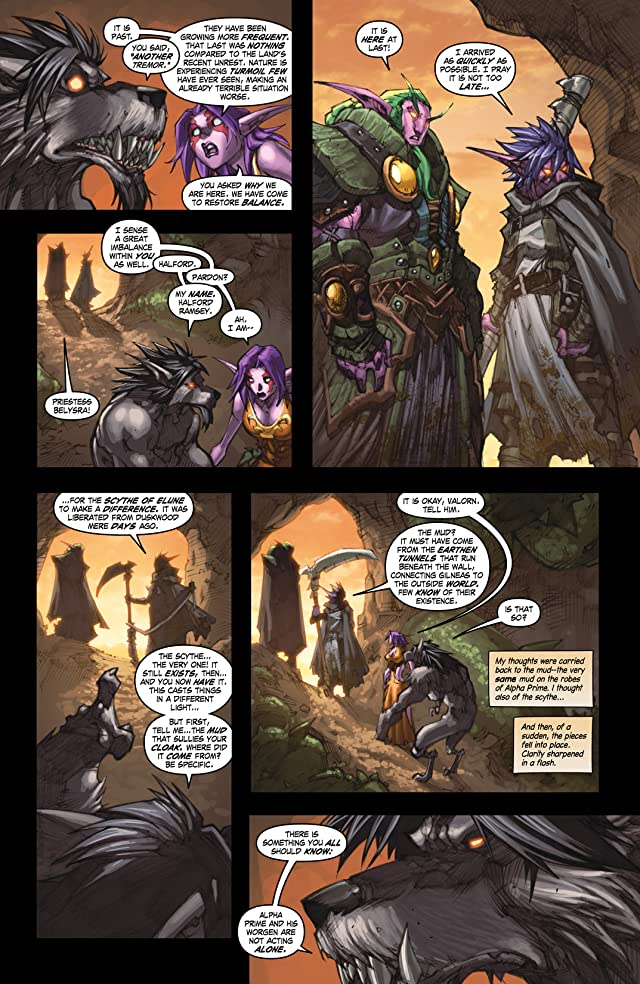 click for super-sized previews of World of Warcraft: Curse of the Worgen #5 (of 5)