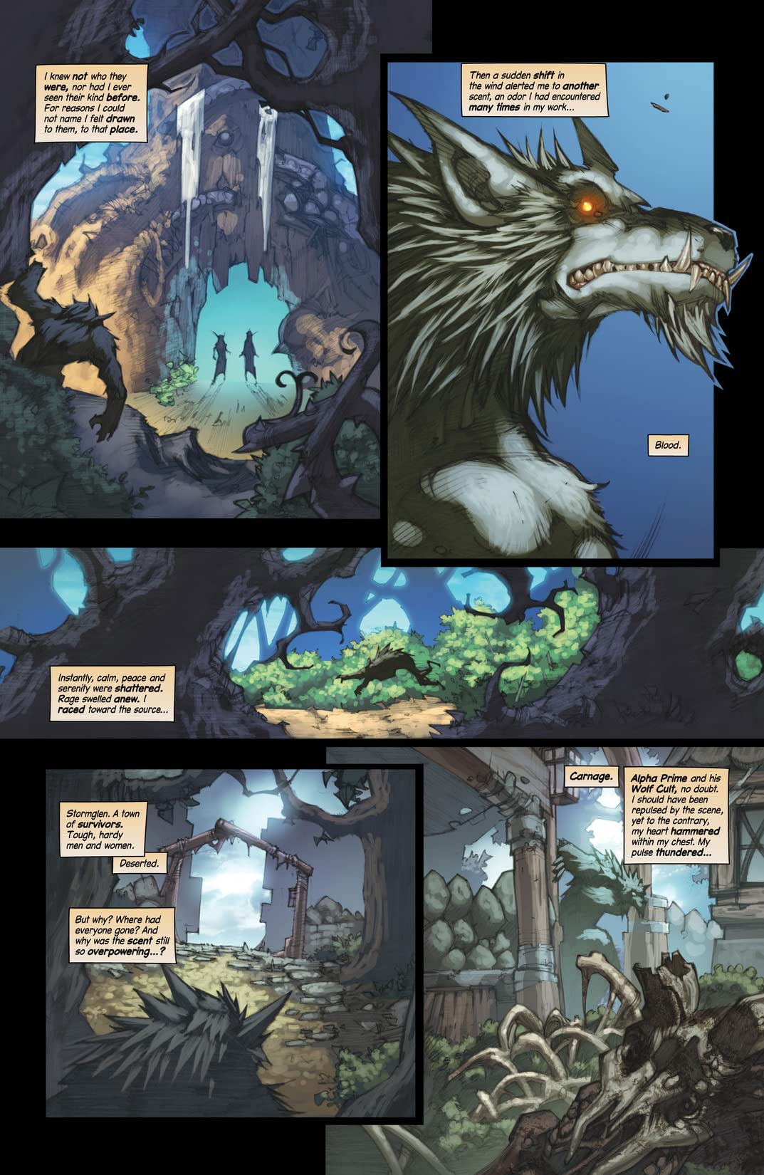 World of Warcraft: Curse of the Worgen #3 (of 5)