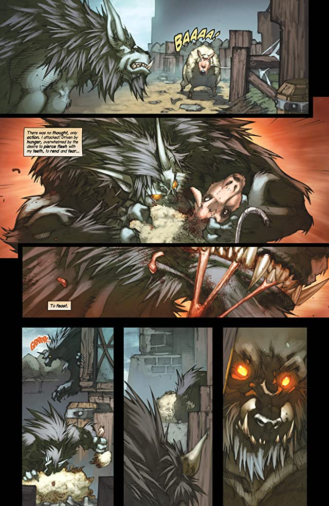 click for super-sized previews of World of Warcraft: Curse of the Worgen #3