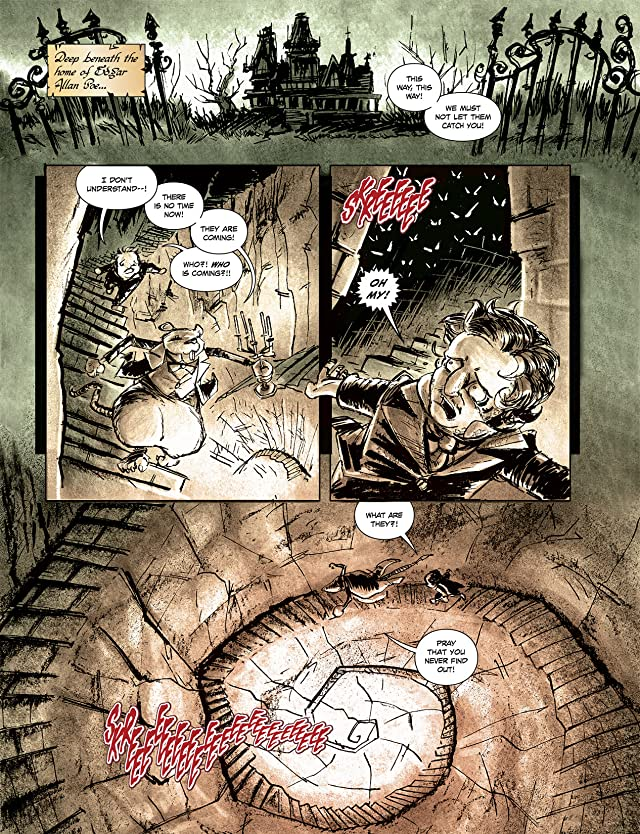 click for super-sized previews of The Surreal Adventures of Edgar Allan Poo Vol. 1