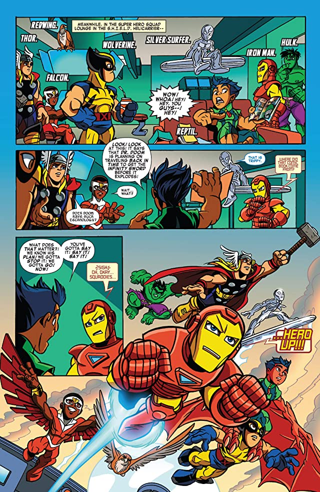 click for super-sized previews of Super Hero Squad #1
