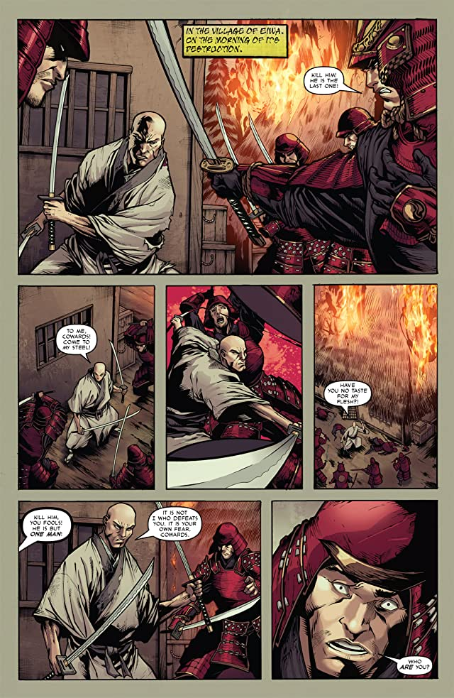 click for super-sized previews of Samurai's Blood #5
