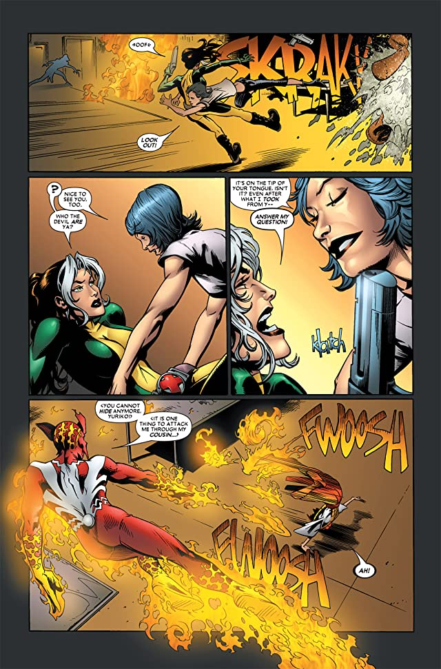 click for super-sized previews of Rogue (2004-2005) #10
