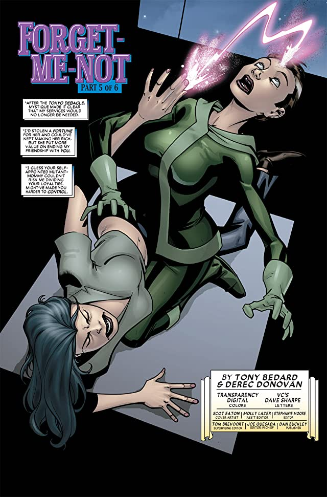 click for super-sized previews of Rogue (2004-2005) #11