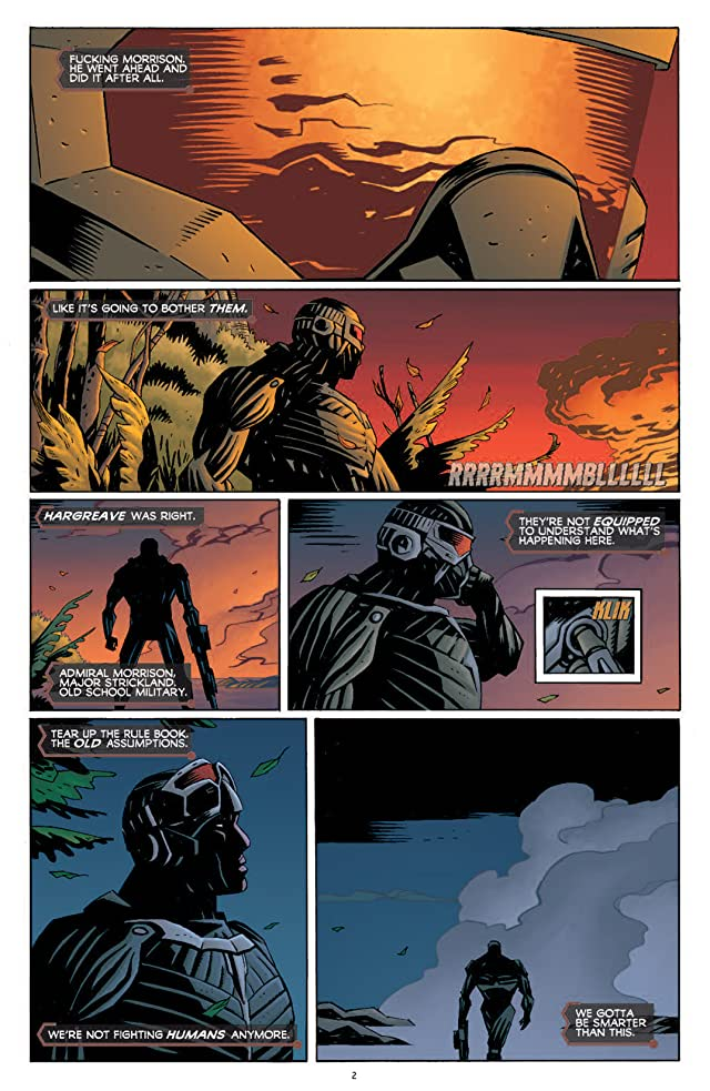 click for super-sized previews of Crysis #1 (of 6)