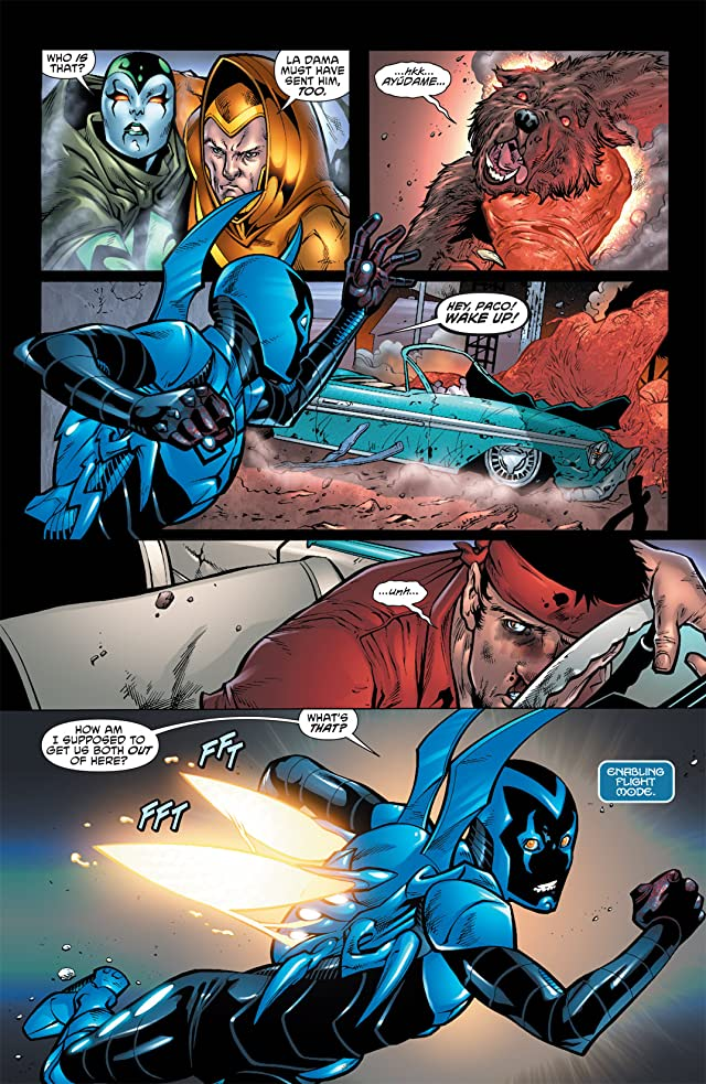 click for super-sized previews of Blue Beetle (2011-2013) #2