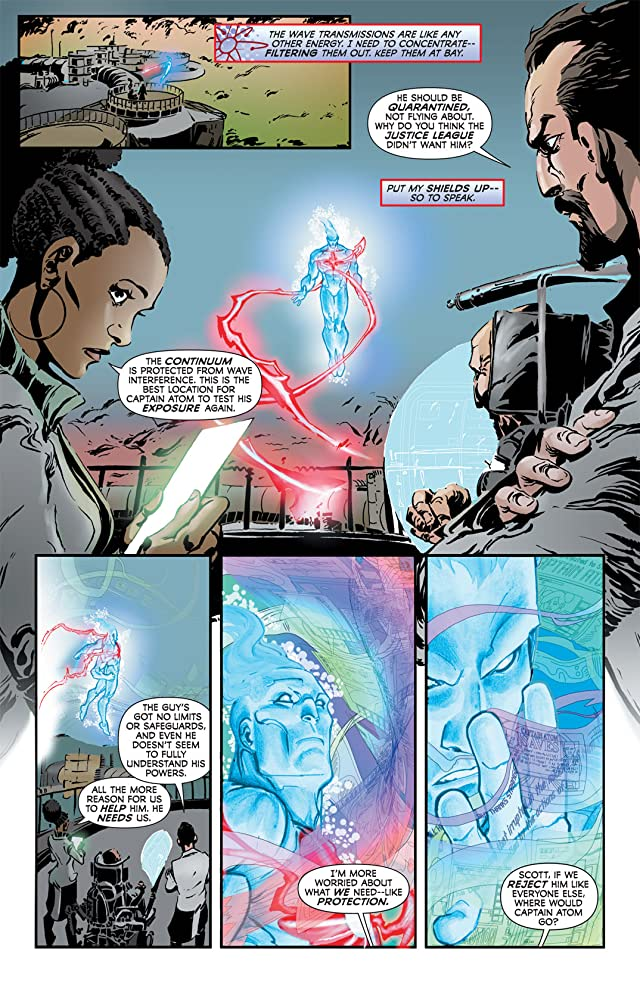 click for super-sized previews of Captain Atom (2011-2012) #2