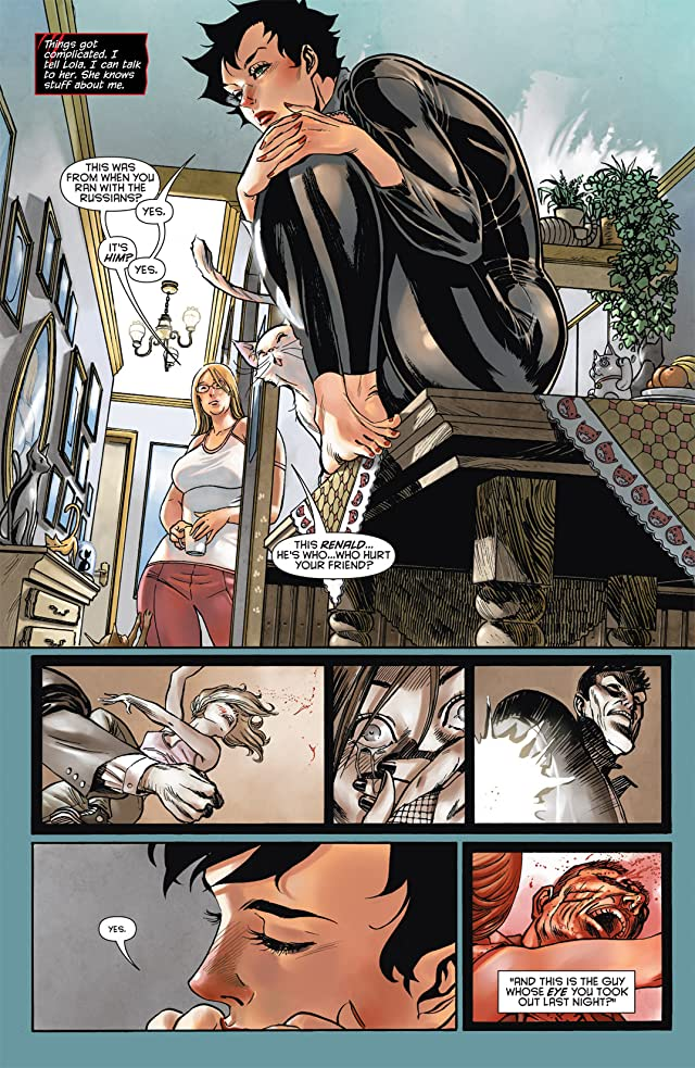 click for super-sized previews of Catwoman (2011-) #2