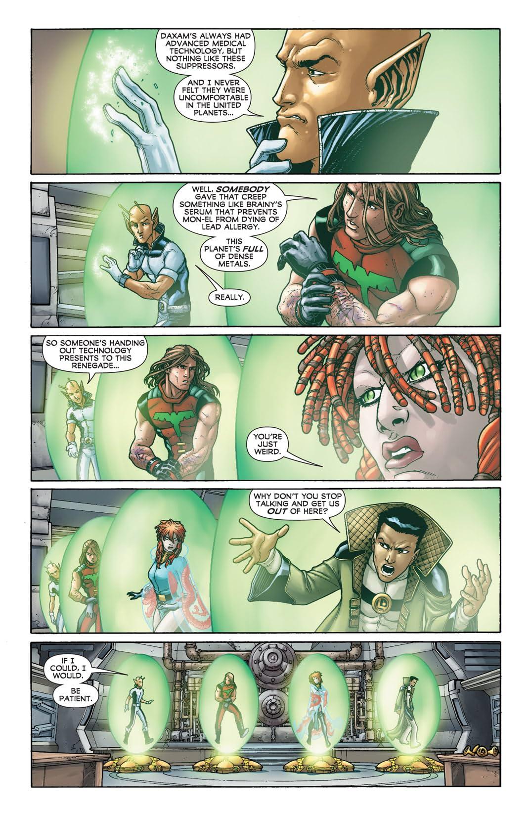 Legion of Super-Heroes (2011-2013) #2