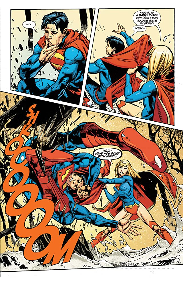 click for super-sized previews of Supergirl (2011-2015) #2