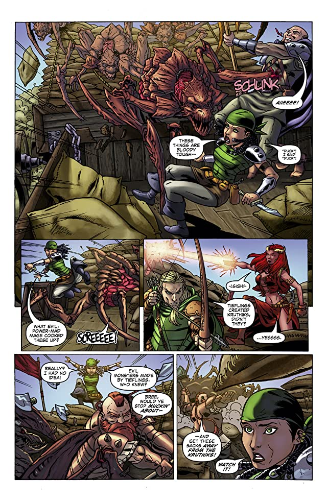 click for super-sized previews of Dungeons and Dragons #12