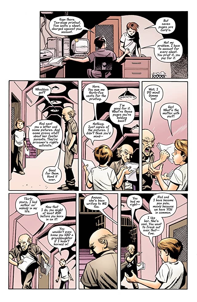 click for super-sized previews of Hard Time (2004-2005) #11