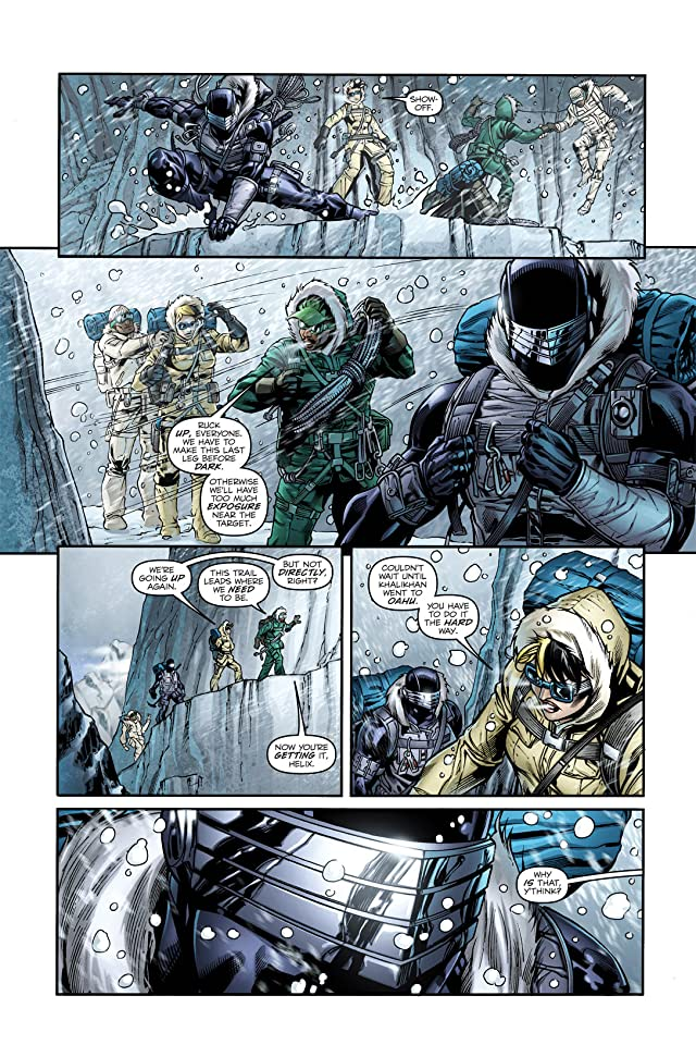 click for super-sized previews of G.I. Joe: Snake Eyes (2011-2013) #1