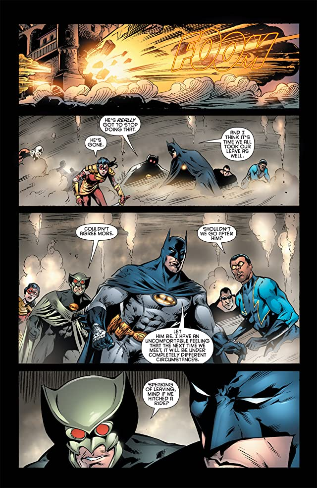 click for super-sized previews of Outsiders (2007-2011) #40