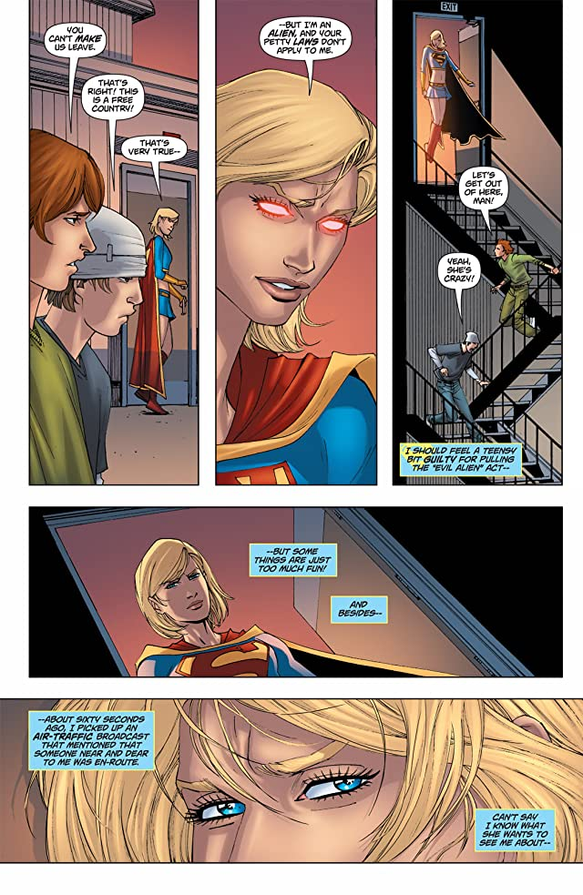 click for super-sized previews of Supergirl (2005-2011) #61