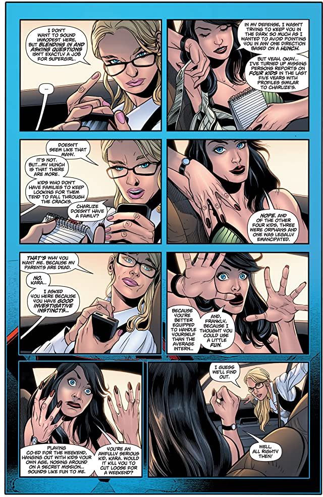 click for super-sized previews of Supergirl (2005-2011) #65