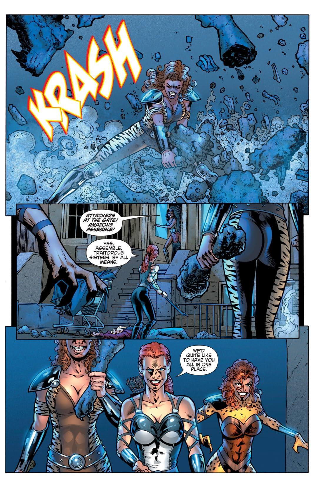 Wonder Woman (2006-2011) #607